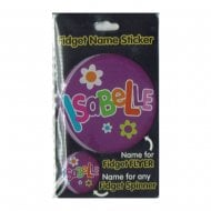 Fidget Name Sticker Isabelle