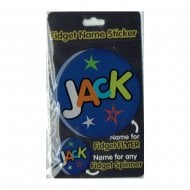 Fidget Name Sticker Jack