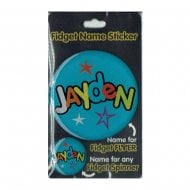 Fidget Name Sticker Jayden