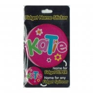 Fidget Name Sticker Katie