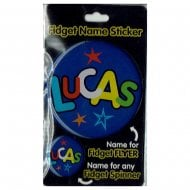 Fidget Name Sticker Lucas