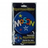 Fidget Name Sticker Mason