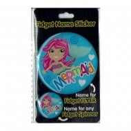 Fidget Name Sticker Mermaid
