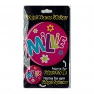 Fidget Name Sticker Millie