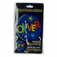 Fidget Name Sticker Oliver