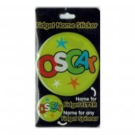 Fidget Name Sticker Oscar