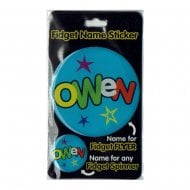 Fidget Name Sticker Owen