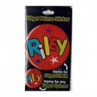 Fidget Name Sticker Riley