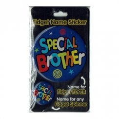 Fidget Name Sticker Special Brother