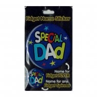Fidget Name Sticker Special Dad