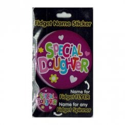 Fidget Name Sticker Special Daughter