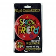 Fidget Name Sticker Special Friend