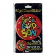 Fidget Name Sticker Special Grandson