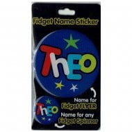 Fidget Name Sticker Theo