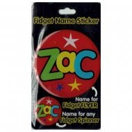 Fidget Name Sticker Zac