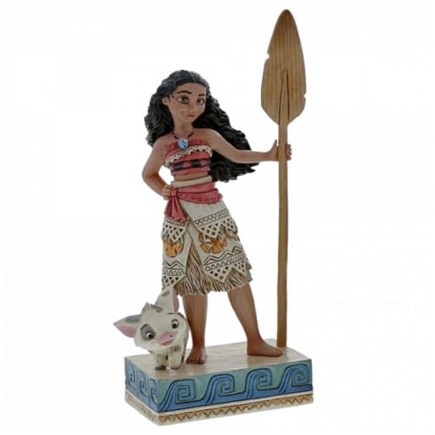 Disney Traditions Find Your Own Way Moana Figurine