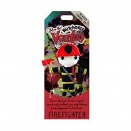 Firefighter Keyring Bag Tag