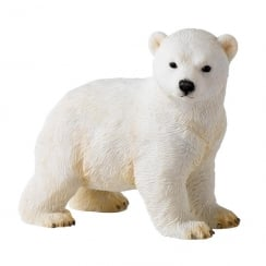 First Adventures Polar Bear Cub Figurine
