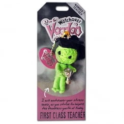 First Class Teacher Voodoo Keyring