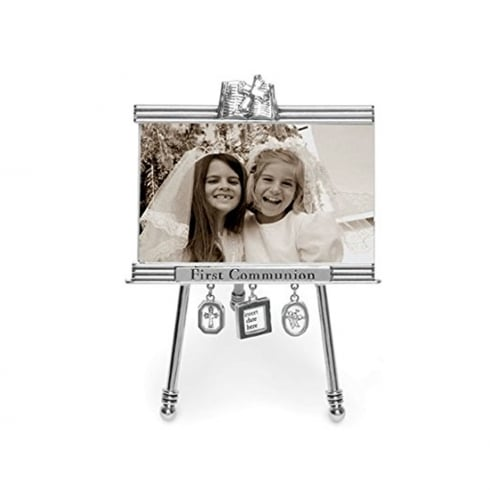 Mud Pie First Communion 5 x 3 Easel Photo Frame