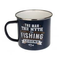 Fishing Tin Mug 11