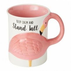 Flamingo Sculpted Mug
