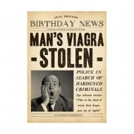 Fleet Street Mans Viagra Stolen Birthday Card