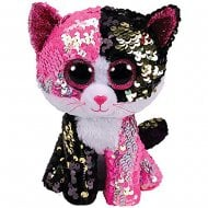 Flippables Malibu Cat Medium Size Sequins Soft Toy