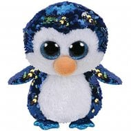 Flippables Payton Penguin Medium Size Sequins Soft Toy