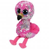 Flippables Pinky Flamingo Medium Size Sequins Soft Toy
