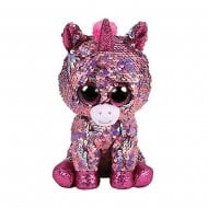 Flippables Sparkle Pink Unicorn Regular Size Sequins Soft Toy