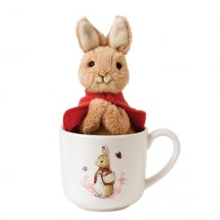 Flopsy Bunny Mug & Soft Toy Set