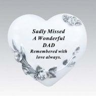 Floral Heart - Dad