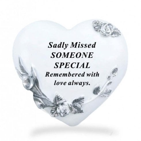 David Fischhoff Floral Heart - Someone Special