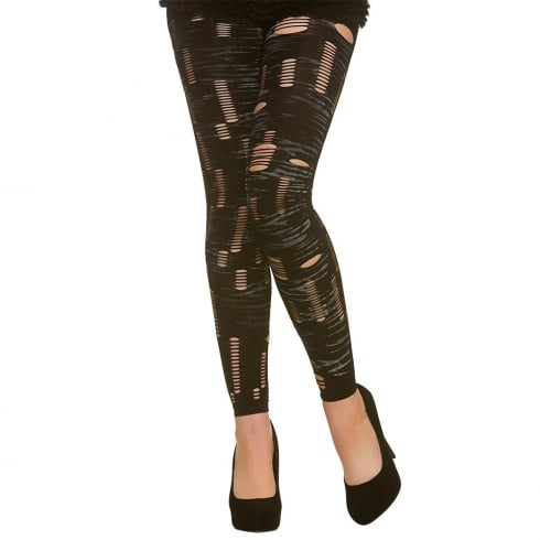 Wicked Costumes Footless Zombie Tights