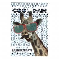 For A Really Cool Dad! Have A Great Fathers Day! Card DF247