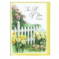 For All Of You At Easter Greeting Card
