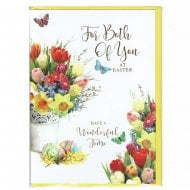 For Both Of You At Easter Greeting Card