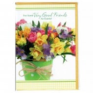 For Some Very Good Friends At Easter Greeting Card