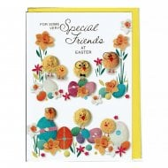 For Some Very Special Friends At Easter Greeting Card