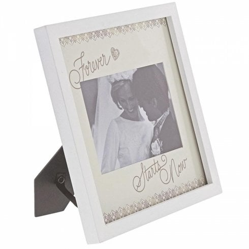 Love Always Collection Forever Starts Now 6 x 4 Photo Frame