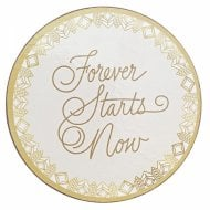 Forever Starts Now Coasters Set Of 4