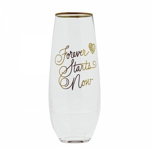 Love Always Collection Forever Starts Now Toasting Glasses Set Of 2