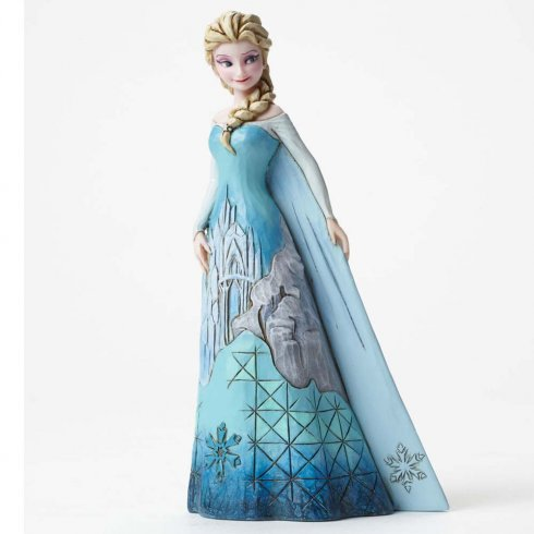 Disney Traditions Fortress Of Frost Elsa Figurine