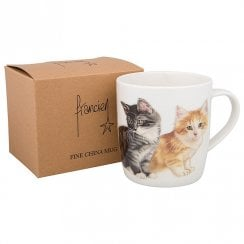 Four Kittens Boxed Mug
