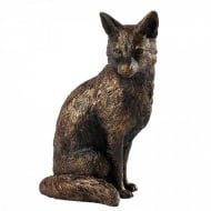 Fox Bronze Effect Figurine