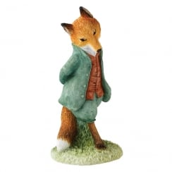 Foxy Whiskered Gentleman Mini Figurine