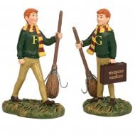 Fred & George Weasley Set Of 2 Figurines