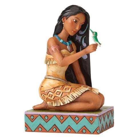 Disney Traditions Free and Fierce Pocahontas with Flit