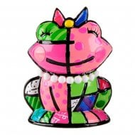 Frenchie The Pink Frog Mini Figurine